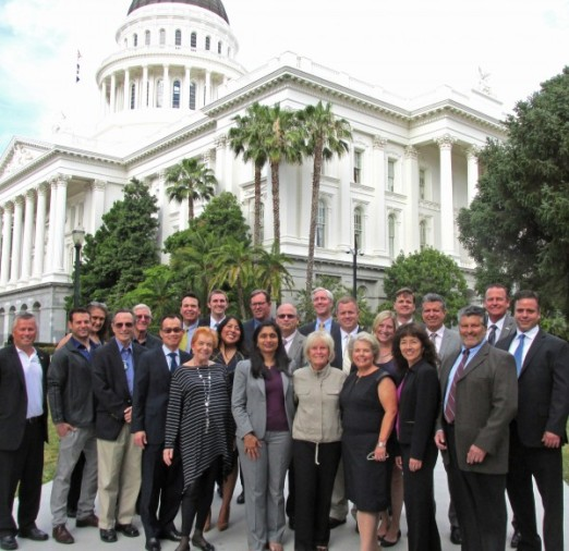 County Chamber Leaders Visit Sacramento